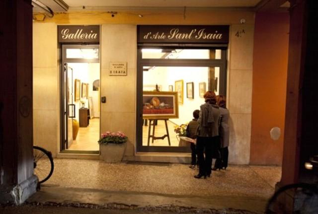 mostra personale Galleria d'arte Sant'Isaia - Bologna