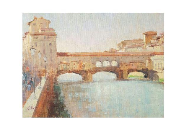 Ponte Vecchio - Firenze (18 x 24)