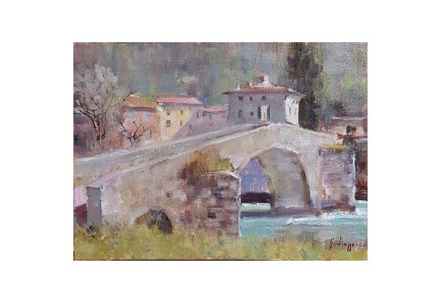 Ponte Vicchio (18 x 24)