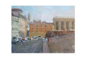 piazza pitti (18 x 24)