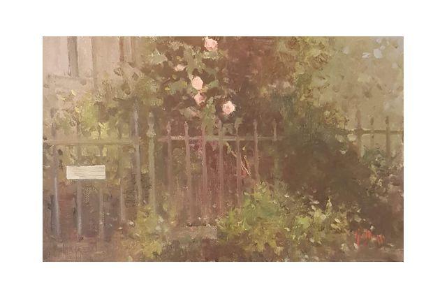 un giardino (14 x 22)