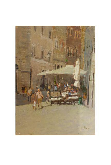 Cafe Le Logge (18 x 24)