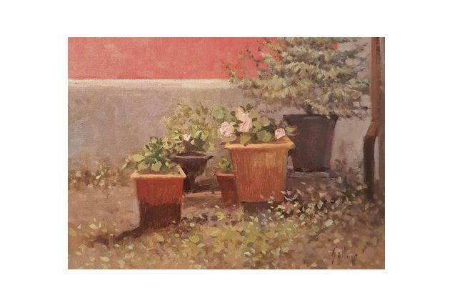 backyard (18 x 24)