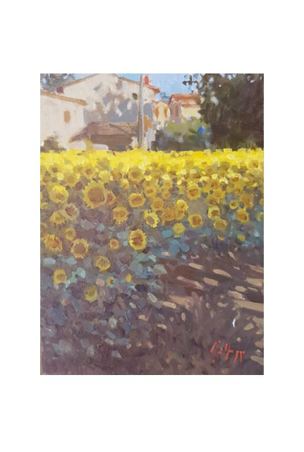 e. m. sunflowers (18 x 24)
