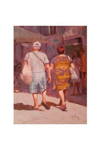 touristic walk (18 x 24)