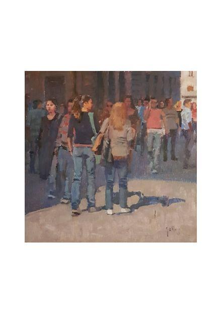 stroll (20 x 20)